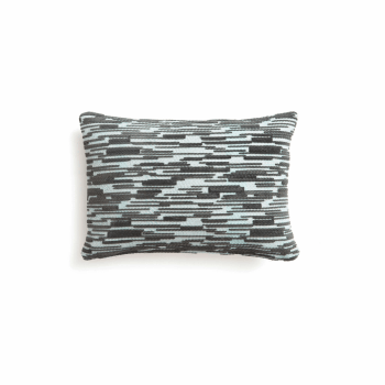 Cushion Malabar N°2 Nile Blue Charcoal