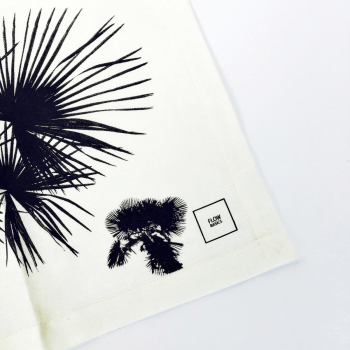 ✖ Placemat Palm Tree Wit