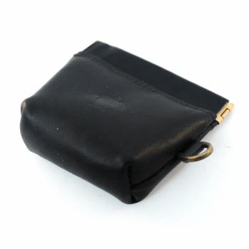 WHALE - Small Pouch Black