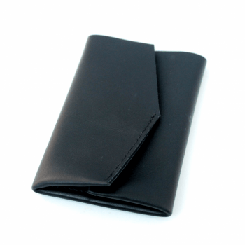 MANTA Leather Wallet - Black