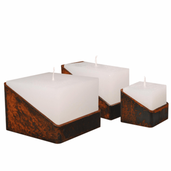 Lente label TUBE Candleset - Roest