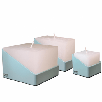 Lente label TUBE Candleset - Turquoise