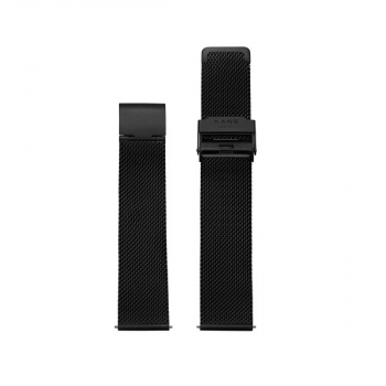 Watch Strap I Black Mesh