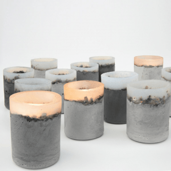 CONCRETE candle holder | sfeerlicht