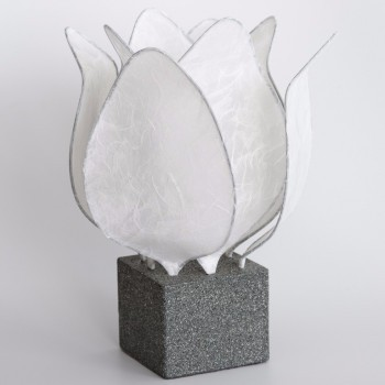 Tulp Lamp - wit
