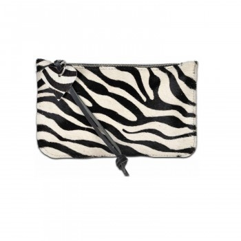 Clutch / handtas zebraprint