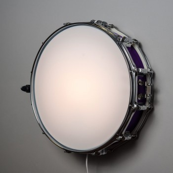 Snare Drum Wall Light Deep Purple