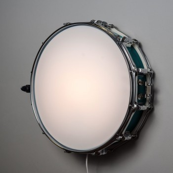 Snare Drum Wall Light Turquoise