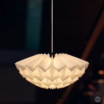 Discus Small Wit - Hanglamp of Plafonnière