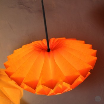 Discus Small Geel-Oranje - Hanglamp of Plafonnière