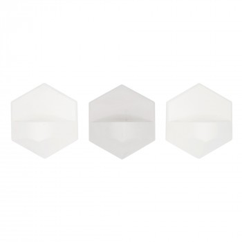 MonoFlame Concrete White 3 pack