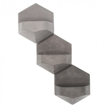 MonoPlanter Concrete Grey 3 pack
