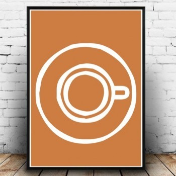 Poster Grafisch Ontwerp: 'Coffee Time' | Print