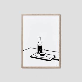 Table stories (wine) print