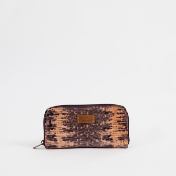 Snake wallet purple
