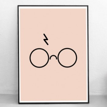 Poster Grafisch Ontwerp: 'You're a wizard'| Print