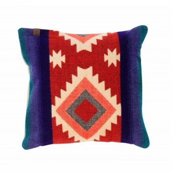 Pillow Native Double Print Red