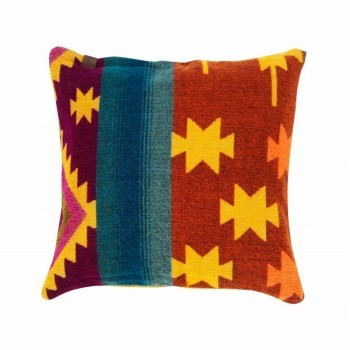 Pillow Native Double Print Ocre