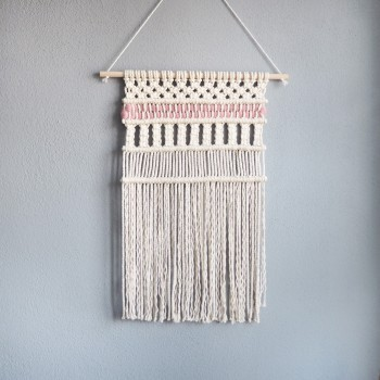 "Macrame Wall hanging - ""Baby-Girl"""