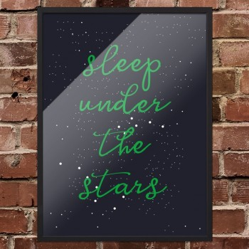 Arty-Shock poster 'Sleep Under The Stars'