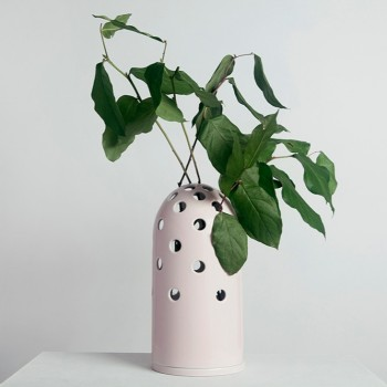 Fly's Eye Vase I big / pink