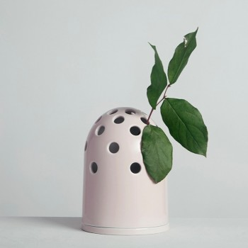 Fly's Eye Vase | small / pink
