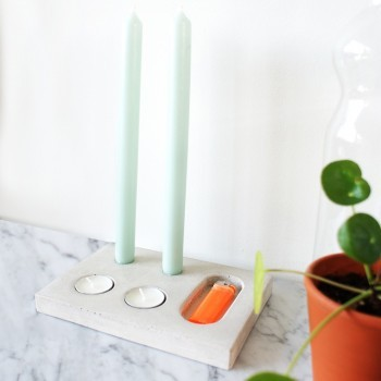 Flat Packed Candle Holder