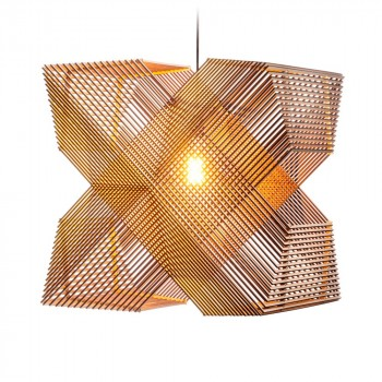 No.41 Hanglamp Angles by Alex Groot Jebbink