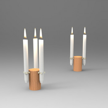 Clip-It-On-Candle