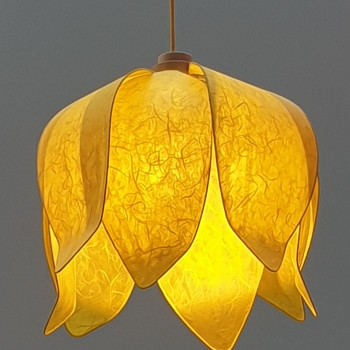Tulip Hanglamp - Yellow
