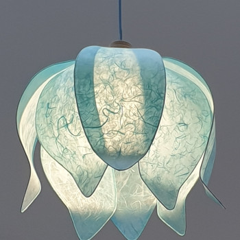 Tulip Hanglamp - Light blue