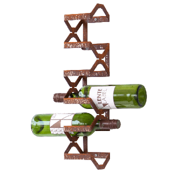 Balanced winerack roest