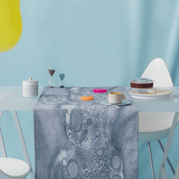 Fungy! Table runner N°1 Blue