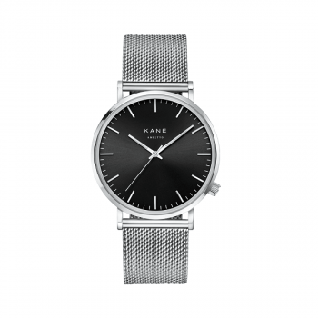 Watch I Black Code Silver Mesh
