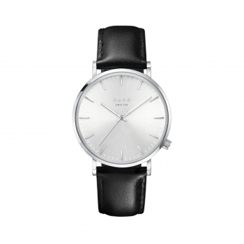 Watch I Silver Steel Classic Black