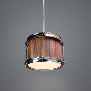 Drum Hanglamp 'Smith' Noten