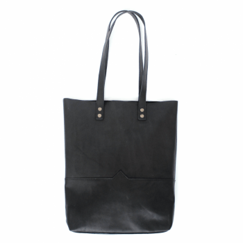 JUSTA Leather Bag - Black