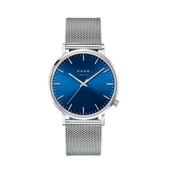 Watch I Blue Arctic Silver Mesh