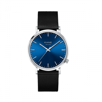 Watch I Blue Arctic Black Mesh