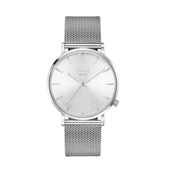 Watch I Silver Steel Silver Mesh