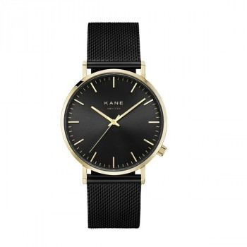 Watch I Gold Club Black Mesh