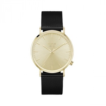 Watch I Gold Rush Black Mesh
