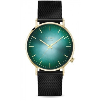 Watch Gold Jade Black Mesh