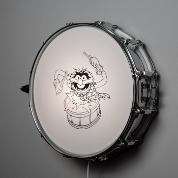 Snaredrum Wandlamp - Animal