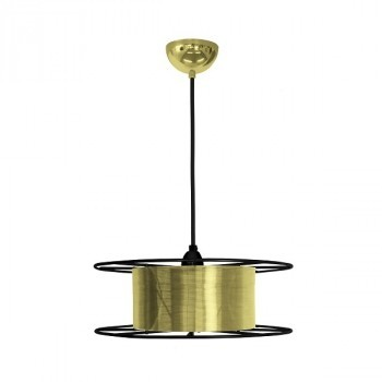 SPOOL Messing hanglamp