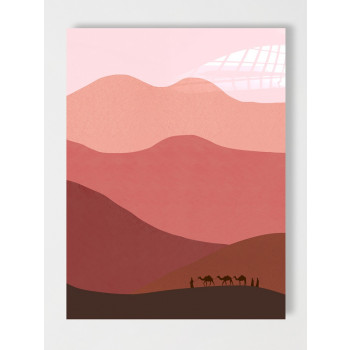 TRAVELING THE PINK DESERT - Staand