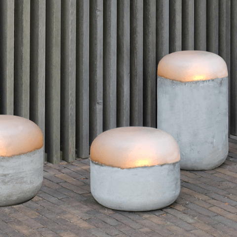 CONCRETE outdoor lamp Large