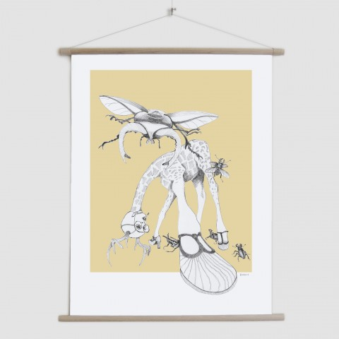 Weird & Wonderful: What bugs you? - canvas poster
